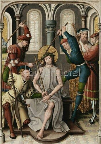 Jan Baegert: Altar aus der Kirchspielkirche in Liesborn. Dornenkrönung Christi. 1517/22