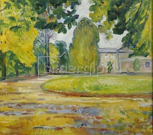 Edvard Munch: Park in Kösen. 1906.