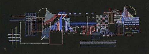 Wassily Kandinsky: La petite raie. 1937