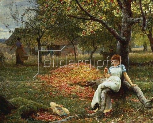 Robert Walker Macbeth: Der Apfelbaum. 1890