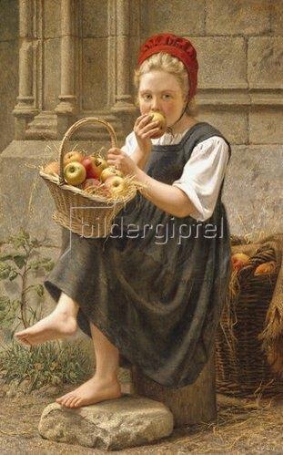 Charles-Victor Thirion: Das Apfelmädchen.