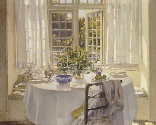 Patrick William Adam: Das Frühstückszimmer. 1916