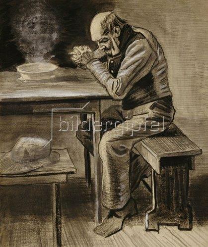 Vincent van Gogh: Das Tischgebet. 1882