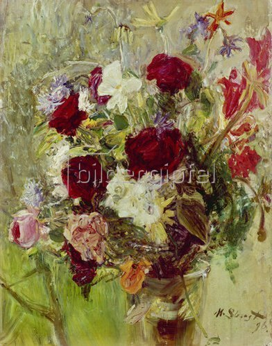 Max Slevogt: Blumenstrauß. 1896