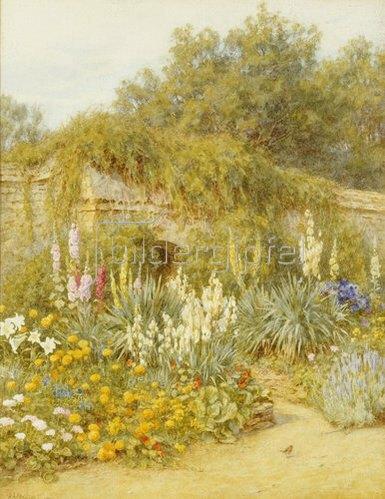 Helen Allingham: Der Garten von Gertrude Jekyll in Munstead Wood.