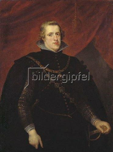 Peter Paul Rubens: Philipp IV. von Spanien. Um 1628/29