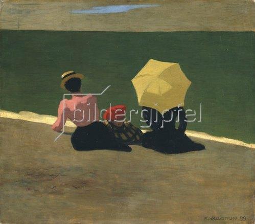 Felix Vallotton: At the beach. 1899