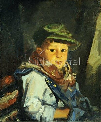 Robert Henri: Junge mit grüner Kappe (Chico). 1922