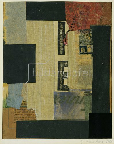 Kurt Schwitters: Collage. 1923