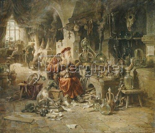 Max Fuhrmann: Der Alchemist.