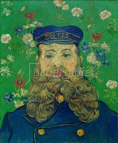 Vincent van Gogh: Bildnis von Joseph Roulin. 1889