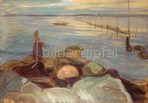 Edvard Munch: An der Küste. 1898