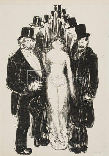 Edvard Munch: Die Gasse. 1895