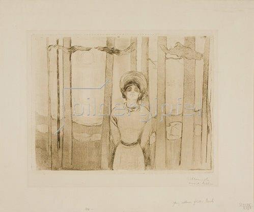 Edvard Munch: Sommernacht (Die Stimme). 1895