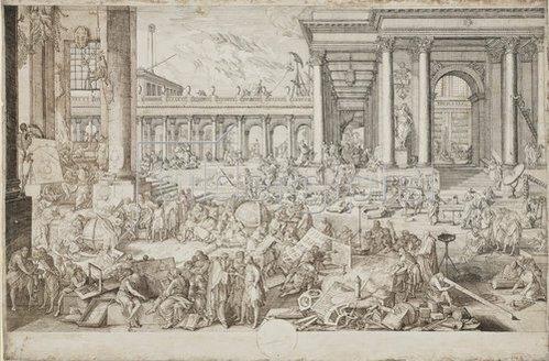 Sebastien Leclerc: L'Académie des Sciences et des Beaux-Arts