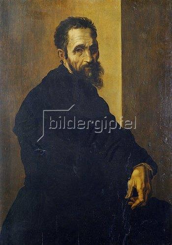 Jacopino del Conte: Portrait des Michelangelo Buonarroti. Um 1535