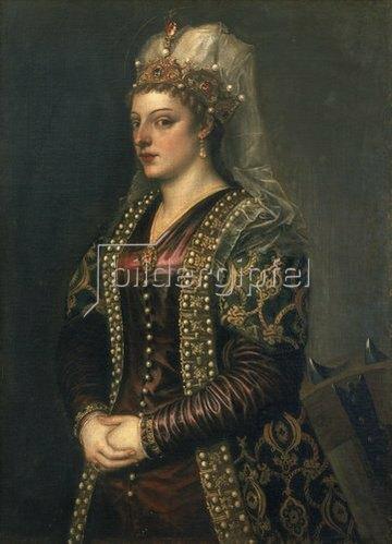 Tizian (Tiziano Vecellio): Caterina Cornaro.