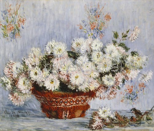 Claude Monet: Chrysanthemen. 1878