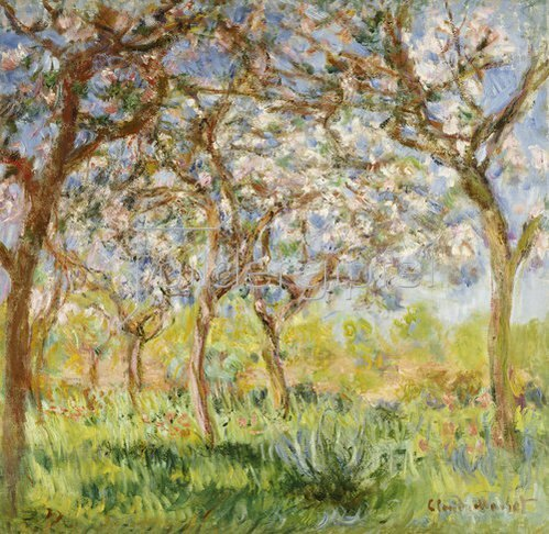 Claude Monet: Frühling in Giverny.