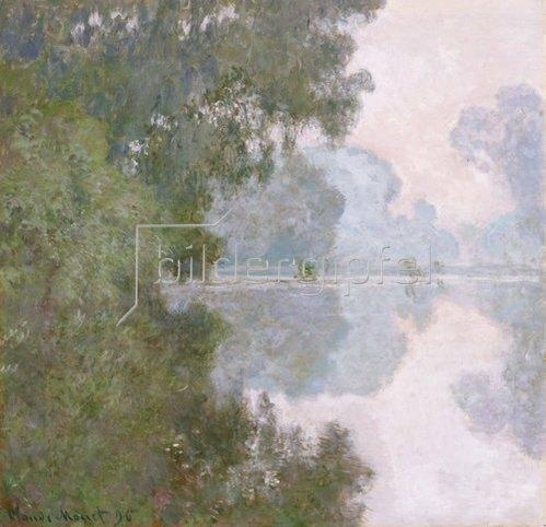 Claude Monet: Morgen an der Seine, nahe Giverny. 1896