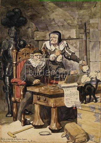 Richard Dadd: Die Gier. 1854