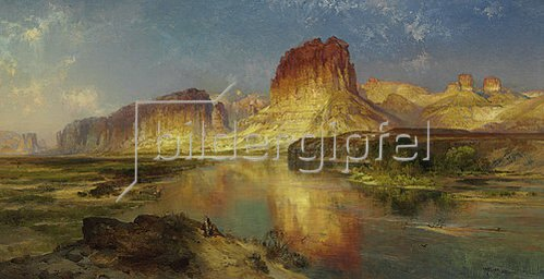 Thomas Moran: Der 'Green River' von Wyoming.