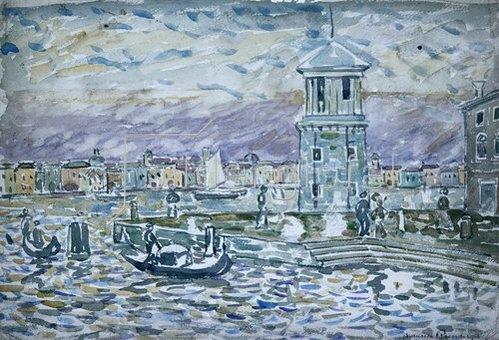 Maurice Brazil Prendergast: Venedig.