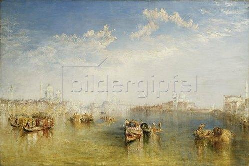 Joseph Mallord William Turner: Giudecca, La Donna Della Salute und San Giorgio.