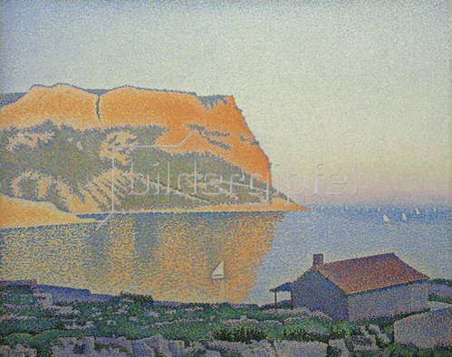 Paul Signac: Cassis, Cap Canaille. 1889