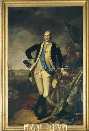 Charles Willson Peale: George Washington in Princeton. 1779
