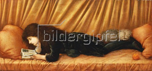 Sir Edward Burne-Jones: Katie Lewis. 1886