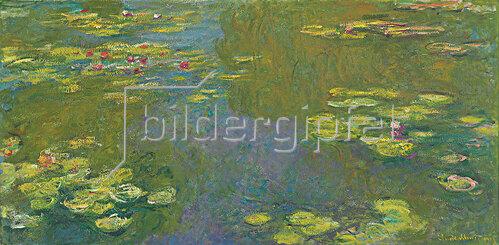 Claude Monet: Der Seerosenteich (Le bassin aux nympheas). 1919
