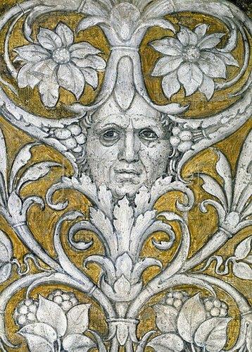 Andrea Mantegna: Detail aus einem Deckenfresko.