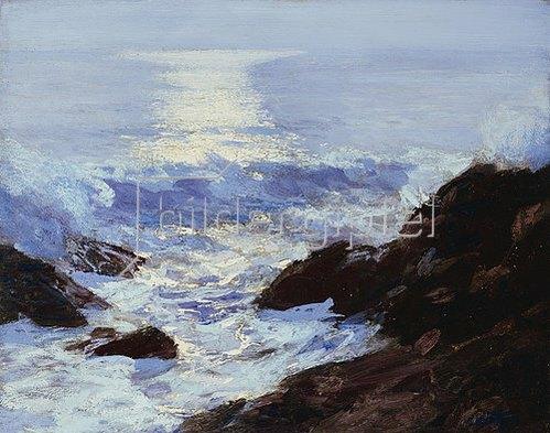 Edward Henry Potthast: Mondlicht.