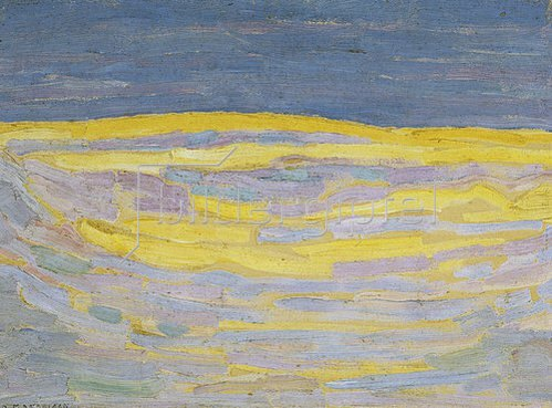 Piet Mondrian: Morgendämmerung.