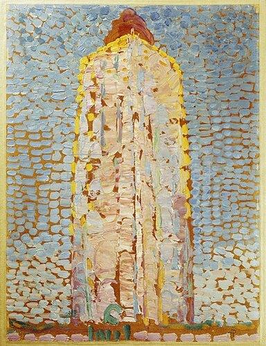 Piet Mondrian: Leuchtturm (in Westkapelle?)