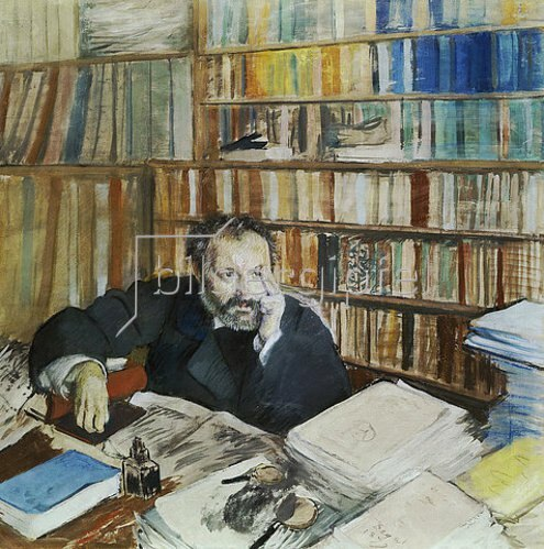Edgar Degas: Edmond Duranty. 1879