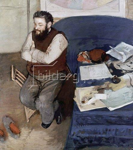 Edgar Degas: Diego Martelli. 1879