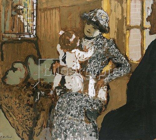 Edouard Vuillard: Kind in einer weißen Schürze. Um 1910