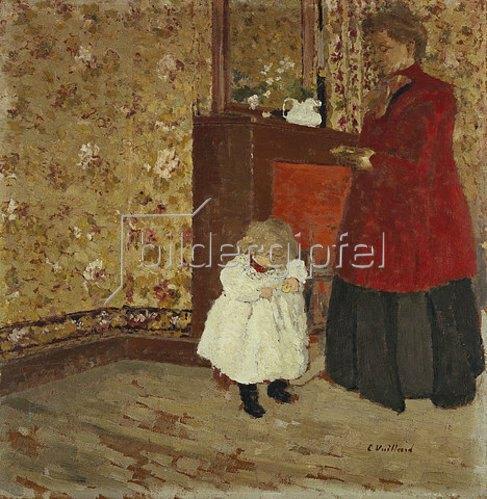Edouard Vuillard: Mutter mit Kind.