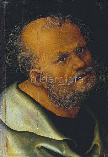 Lucas Cranach d.Ä.: Der Heilige Petrus.