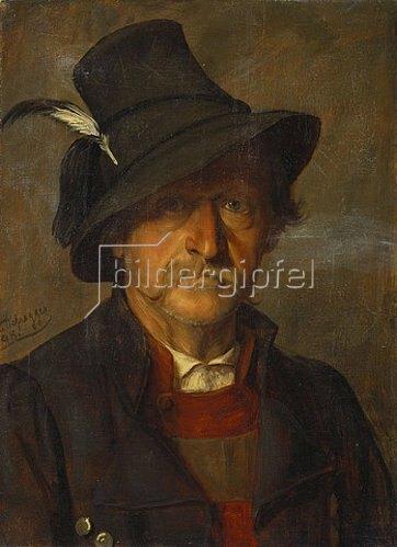 Franz von Defregger: Ein Tiroler Bauer. 1898