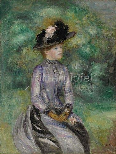 Auguste Renoir: Adrienne. Um 1878