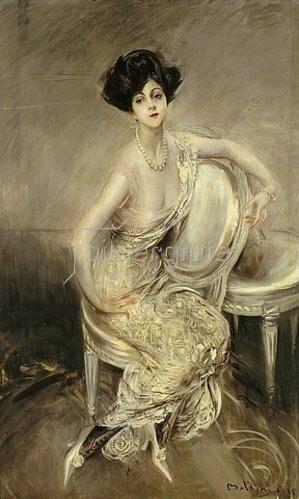 Giovanni Boldini: Portrait von Rita De Acosta Lydig. 1911