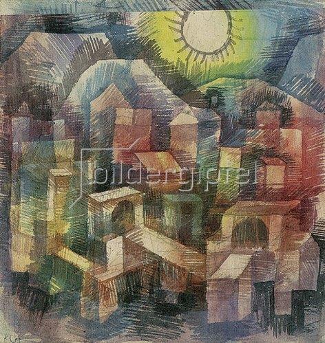 Paul Klee: Abend in Bol. 1925