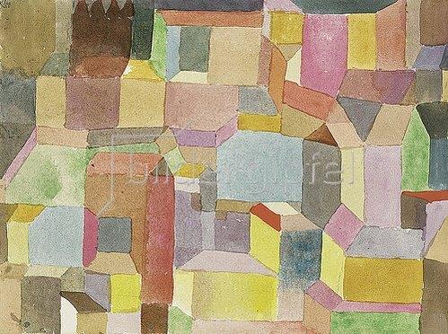 Paul Klee: Mittelalterliche Stadt. 1915
