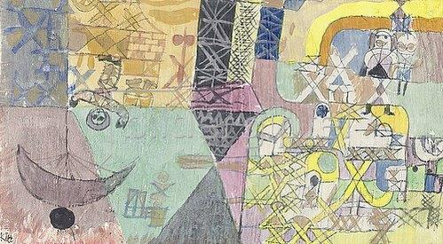 Paul Klee: Asiatische Gaukler. 1919