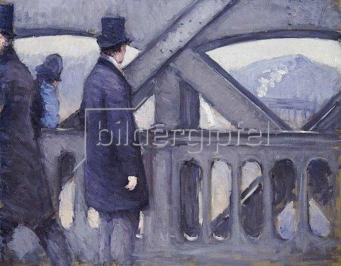 Gustave Caillebotte: Europabrücke. 1876