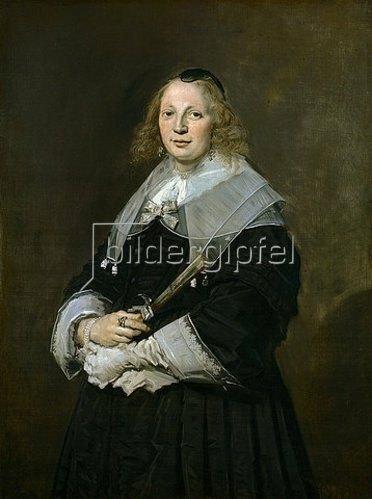 Frans Hals: Bildnis einer Dame. Um 1643-45