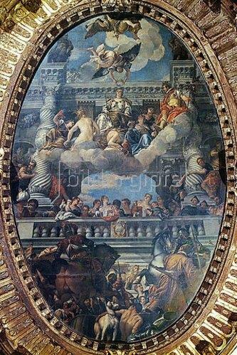Paolo (Paolo Caliari) Veronese: Die Apotheose Venedigs.